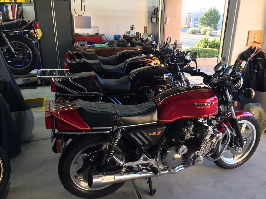 Mike's Honda CBX Collection