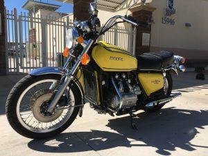 Honda GL1000 Goldwing 1976 Dick C