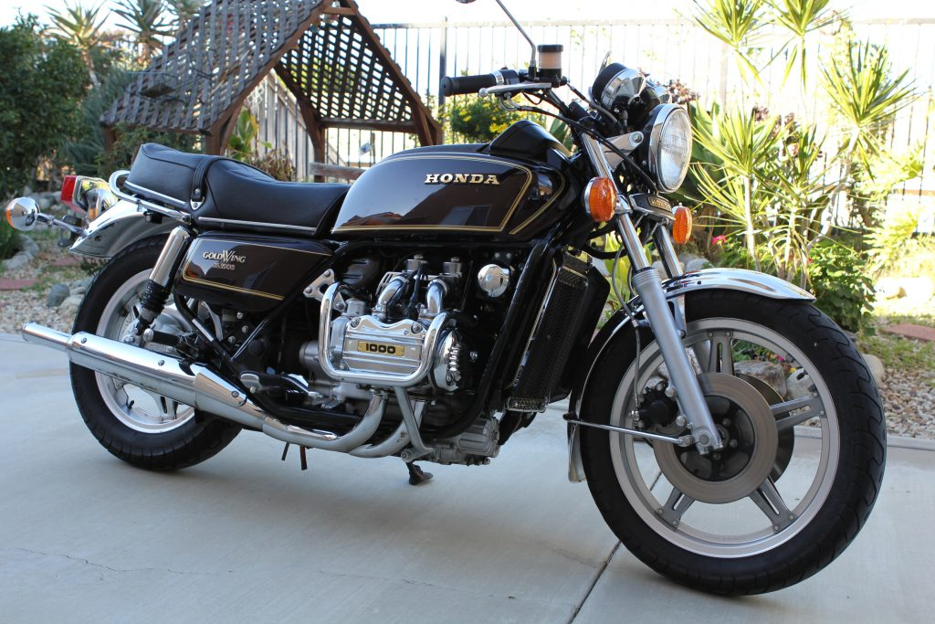 Honda GL1000 Goldwing 1978 Nick