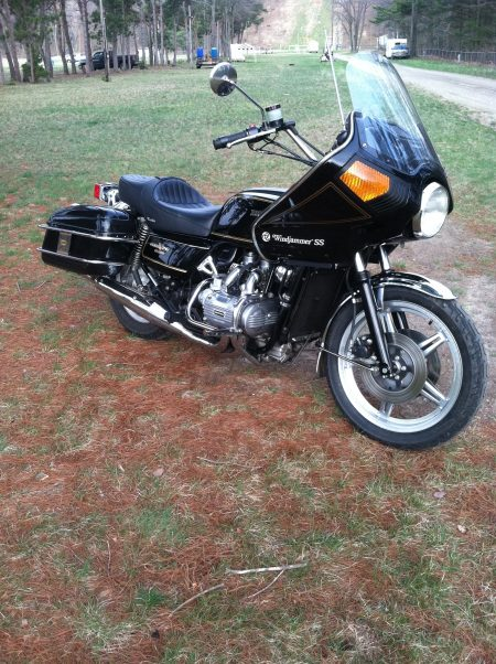 Honda GL1000 Goldwing 1978 Tony S 2