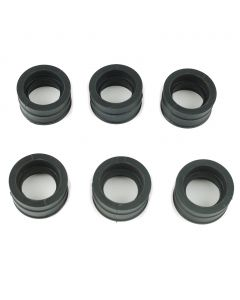 CBX Intake Rubber Boots / Carb Holders 1981-1982 - Set of 6