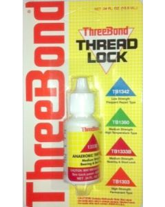 Threadlock - ThreeBond - Red - 1333B - Medium Strength