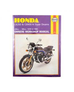 Manual CB250 & CB400N Super Dreams (78 84)