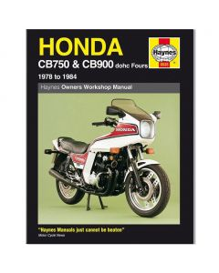 Manual CB750 & CB900 dohc Fours (78 84)