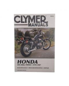 Manual CB400 CM400 CB450 CM450 CMX450