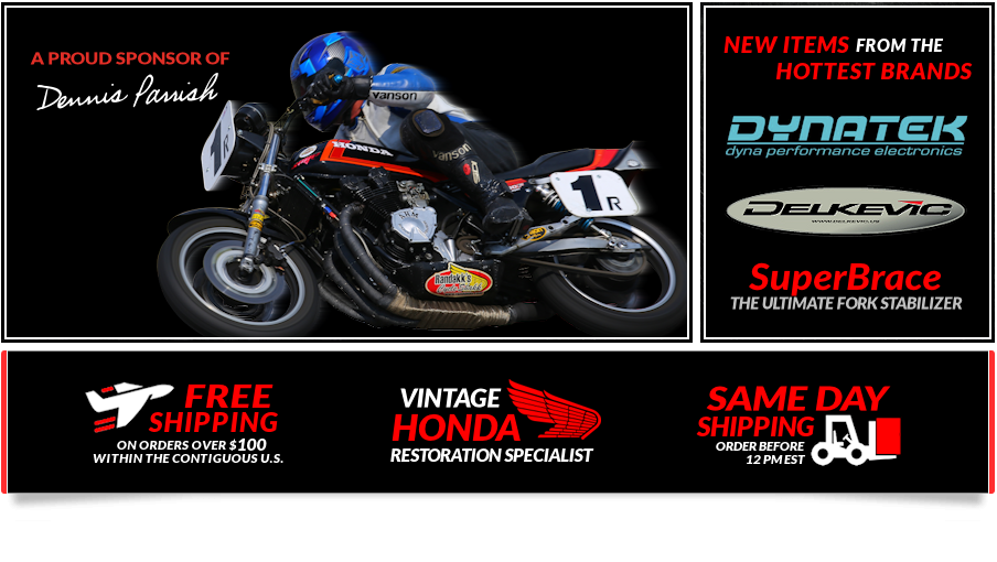 Randakks Cycle Shakk - Vintage Honda Parts Store
