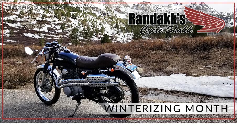 Winterize Month