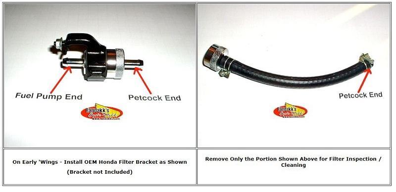 High Performance Fuel Filter 3/8 | Honda Motorcycle Parts | RandakksRandakk's Cycle Shakk