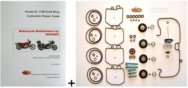GL1100 Combo Carb Kit And Booklet