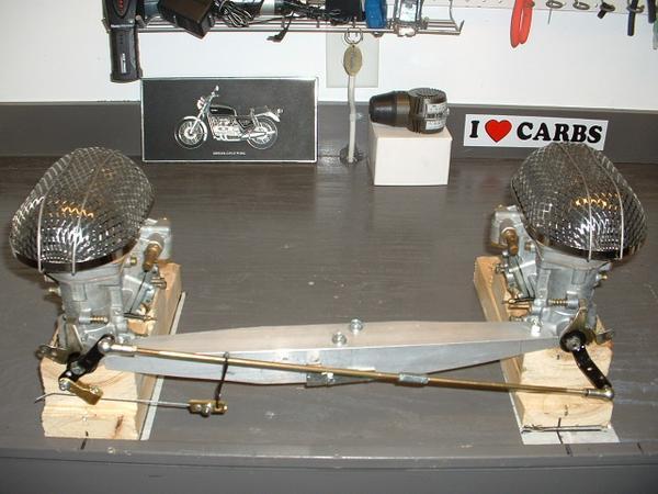 GEN II Intake Manifold Set to Mount Dual Weber 40 IDF Carbs
